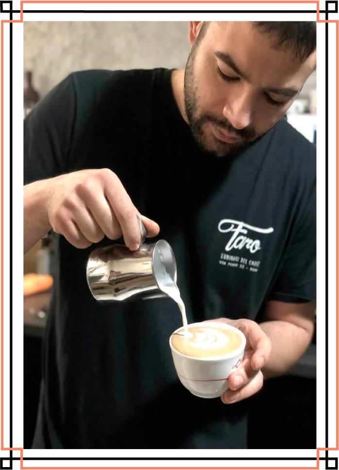 Corso di caffetteria LatteArt presso la Flair Project Roma